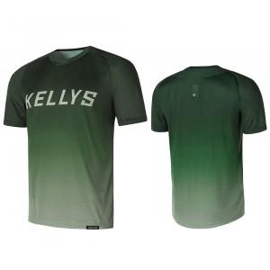 Enduro dres KELLYS TYRION 2 krátky rukáv green- S
