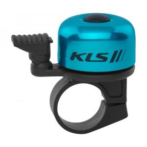 Bicyklový Zvonček KLS BANG 10 - modrý (OEM balenie)