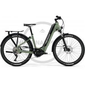 MERIDA eSPRESSO CC 400 EQ matný zelený(čierny) 2021