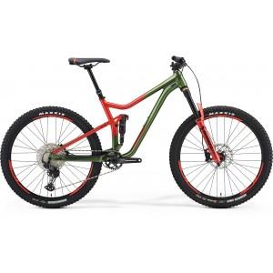 MERIDA ONE-FORTY 700 zelený/červený 2021