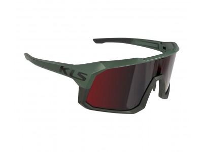 Slnečné okuliare KLS DICE II khaki