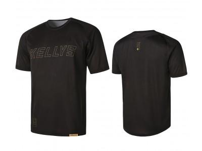 Enduro dres KELLYS TYRION 2 krátky rukáv black- S