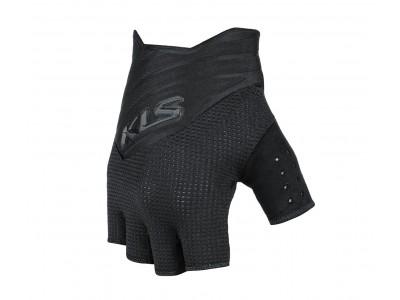 Rukavice KLS Cutout short, black