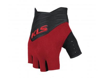 Rukavice KLS Cutout short, red