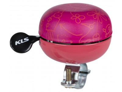 Bicyklový Zvonček KELLYS Bell 60 Doodles ružový