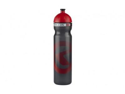 Fľaša KALAHARI Semitransparent anthracite - Red 1l