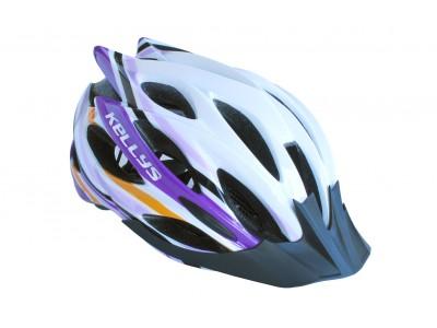 Prilba Dynamic white-alpine purple M/L