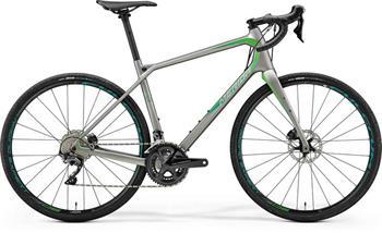 MERIDA SILEX 7000 matná šedá metalíza(zelený) 2018