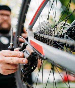 Komponenty na bicykel